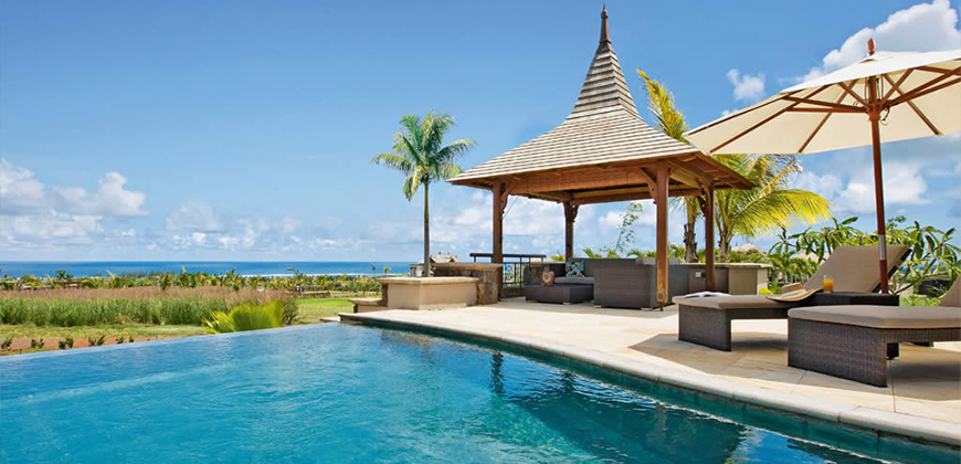 luxury villa for rent mauritius bel ombre